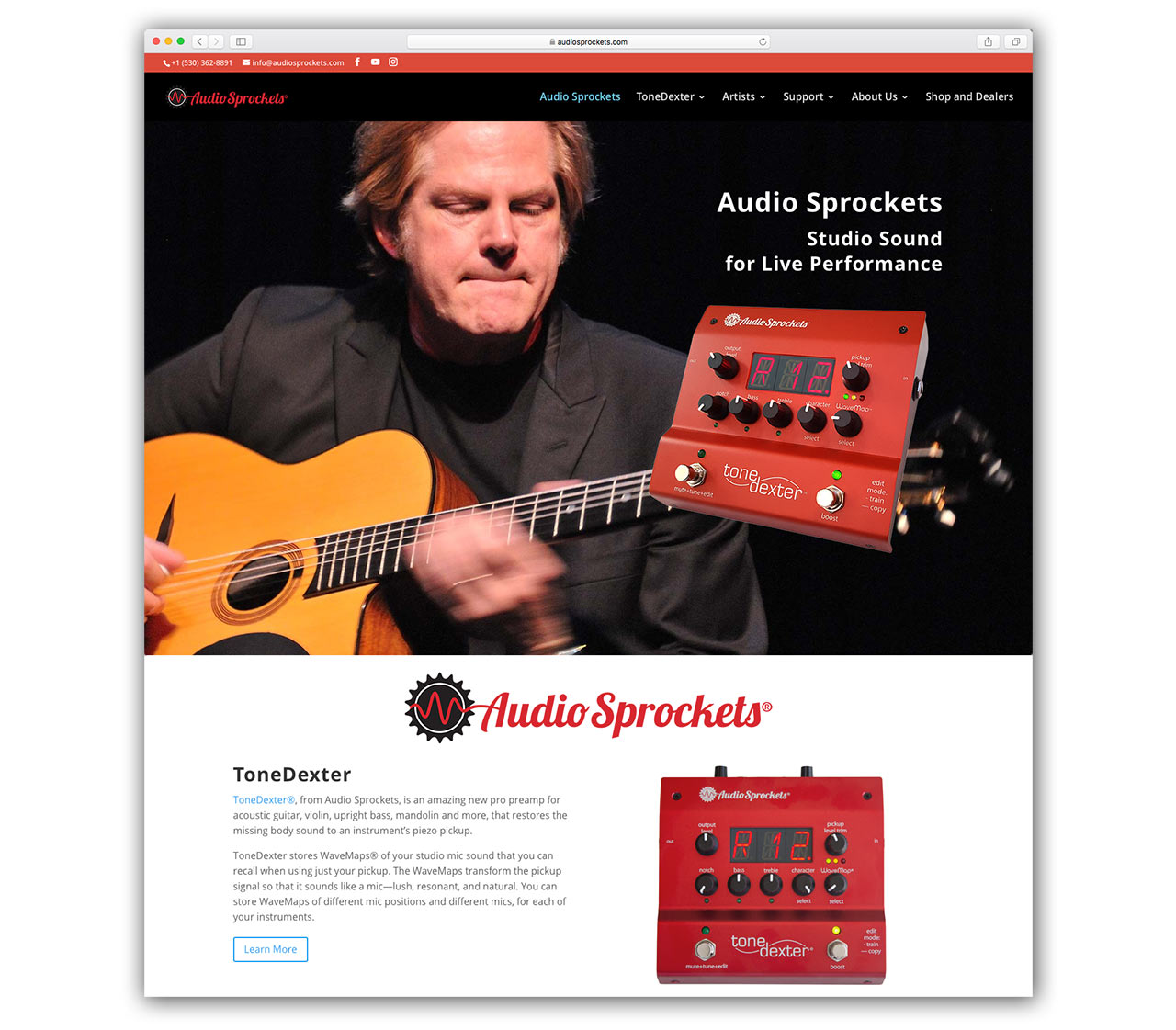 Audio Sprockets Web