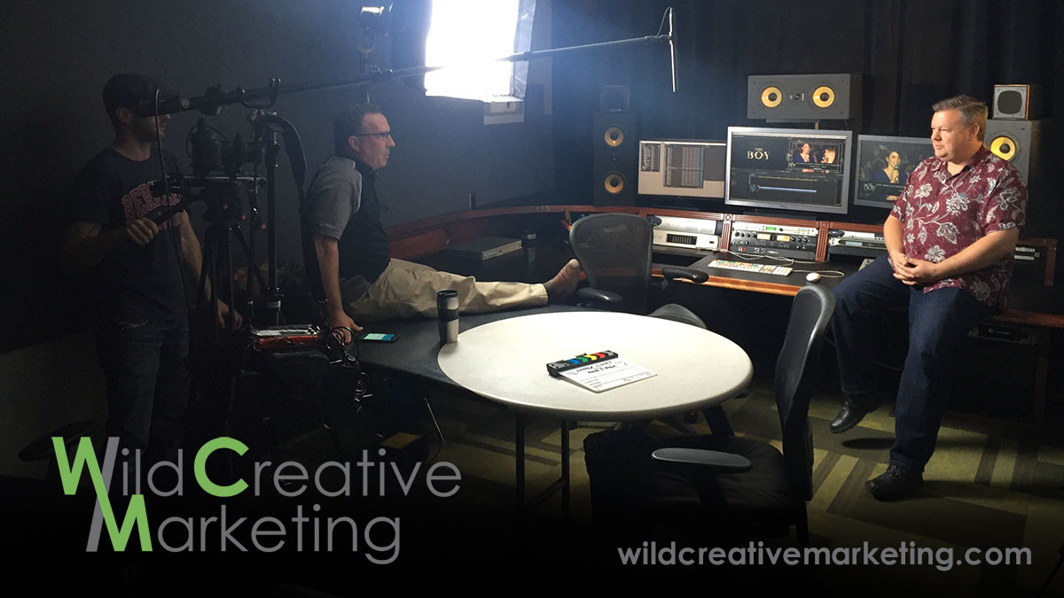 Wild Creative Marketing Video Shoot